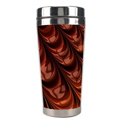 Fractal Mathematics Frax Stainless Steel Travel Tumblers by Amaryn4rt