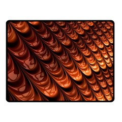 Fractal Mathematics Frax Double Sided Fleece Blanket (small)  by Amaryn4rt