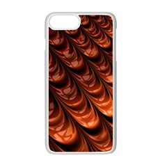 Fractal Mathematics Frax Apple Iphone 7 Plus White Seamless Case by Amaryn4rt