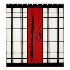 Shoji   Bamboo Shower Curtain 66  X 72  (large)