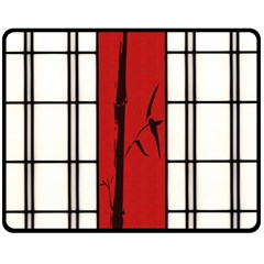 Shoji   Bamboo Double Sided Fleece Blanket (medium)