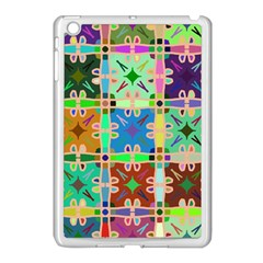 Abstract Pattern Background Design Apple Ipad Mini Case (white) by Amaryn4rt