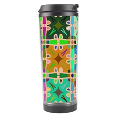 Abstract Pattern Background Design Travel Tumbler