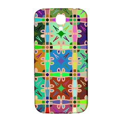 Abstract Pattern Background Design Samsung Galaxy S4 I9500/i9505  Hardshell Back Case