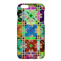 Abstract Pattern Background Design Apple Iphone 6 Plus/6s Plus Hardshell Case