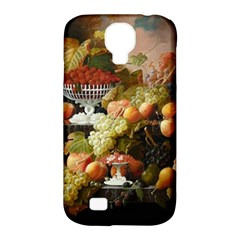 Abundance Of Fruit Severin Roesen Samsung Galaxy S4 Classic Hardshell Case (pc+silicone)