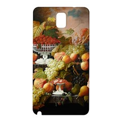 Abundance Of Fruit Severin Roesen Samsung Galaxy Note 3 N9005 Hardshell Back Case