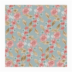 Background Page Template Floral Medium Glasses Cloth by Amaryn4rt