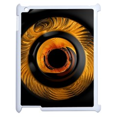 Fractal Mathematics Abstract Apple Ipad 2 Case (white) by Amaryn4rt
