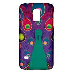 Peacock Bird Animal Feathers Galaxy S5 Mini by Amaryn4rt
