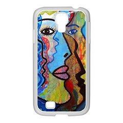 Graffiti Wall Color Artistic Samsung Galaxy S4 I9500/ I9505 Case (white) by Amaryn4rt