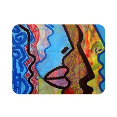 Graffiti Wall Color Artistic Double Sided Flano Blanket (mini)  by Amaryn4rt