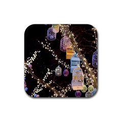 Qingdao Provence Lights Outdoors Rubber Square Coaster (4 Pack)