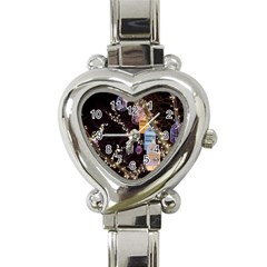 Qingdao Provence Lights Outdoors Heart Italian Charm Watch