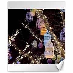 Qingdao Provence Lights Outdoors Canvas 11  X 14   by Amaryn4rt