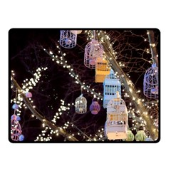 Qingdao Provence Lights Outdoors Fleece Blanket (small) by Amaryn4rt