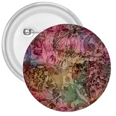 Texture Background Spring Colorful 3  Buttons by Amaryn4rt