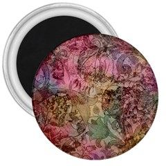 Texture Background Spring Colorful 3  Magnets