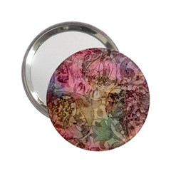 Texture Background Spring Colorful 2 25  Handbag Mirrors