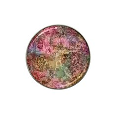 Texture Background Spring Colorful Hat Clip Ball Marker by Amaryn4rt