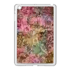 Texture Background Spring Colorful Apple Ipad Mini Case (white) by Amaryn4rt