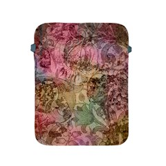 Texture Background Spring Colorful Apple Ipad 2/3/4 Protective Soft Cases