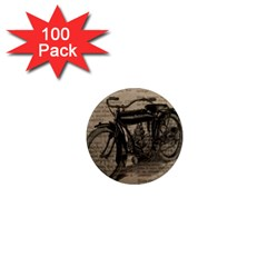 Vintage Collage Motorcycle Indian 1  Mini Magnets (100 Pack)