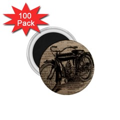 Vintage Collage Motorcycle Indian 1 75  Magnets (100 Pack)  by Amaryn4rt