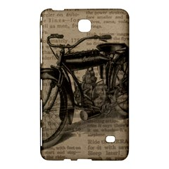 Vintage Collage Motorcycle Indian Samsung Galaxy Tab 4 (8 ) Hardshell Case  by Amaryn4rt