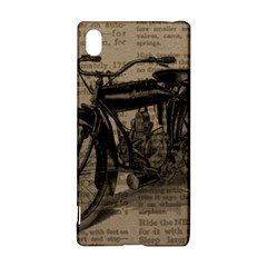 Vintage Collage Motorcycle Indian Sony Xperia Z3+ by Amaryn4rt