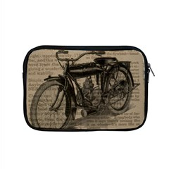 Vintage Collage Motorcycle Indian Apple Macbook Pro 15  Zipper Case