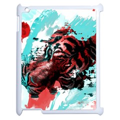 Wallpaper Background Watercolors Apple Ipad 2 Case (white) by Amaryn4rt