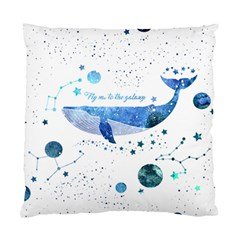 Galaxy Whale Cushion Case (single Sided)