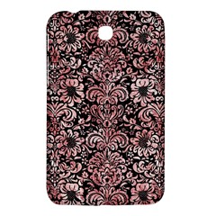 Damask2 Black Marble & Red & White Marble Samsung Galaxy Tab 3 (7 ) P3200 Hardshell Case  by trendistuff