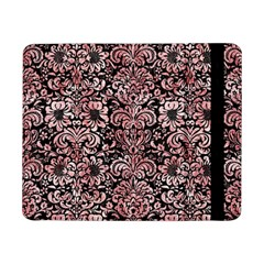 Damask2 Black Marble & Red & White Marble Samsung Galaxy Tab Pro 8 4  Flip Case by trendistuff