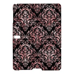 Damask1 Black Marble & Red & White Marble Samsung Galaxy Tab S (10 5 ) Hardshell Case  by trendistuff