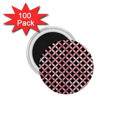 Circles3 Black Marble & Red & White Marble 1 75  Magnet (100 Pack)  by trendistuff