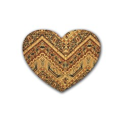 Batik Pekalongan Heart Coaster (4 Pack)