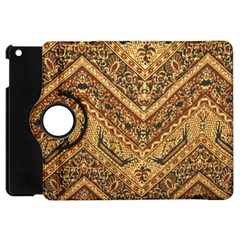 Batik Pekalongan Apple Ipad Mini Flip 360 Case
