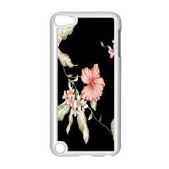 Buds Petals Dark Flower Pink Apple Ipod Touch 5 Case (white)