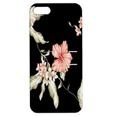 Buds Petals Dark Flower Pink Apple Iphone 5 Hardshell Case With Stand