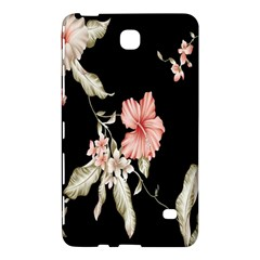 Buds Petals Dark Flower Pink Samsung Galaxy Tab 4 (8 ) Hardshell Case  by AnjaniArt