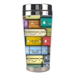 Colored Suitcases Stainless Steel Travel Tumblers