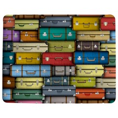 Colored Suitcases Jigsaw Puzzle Photo Stand (rectangular)