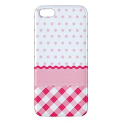 Cute Cartoon Decorative Pink Iphone 5s/ Se Premium Hardshell Case