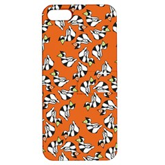 Cat Hat Orange Apple Iphone 5 Hardshell Case With Stand by AnjaniArt