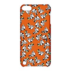 Cat Hat Orange Apple Ipod Touch 5 Hardshell Case With Stand