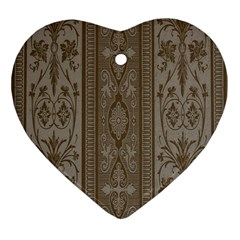 Cool Wall Bedroom Heart Ornament (2 Sides) by AnjaniArt