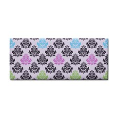 Damask Small Flower Purple Green Blue Black Floral Cosmetic Storage Cases