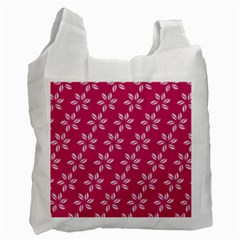 Flower Roses Recycle Bag (one Side) by AnjaniArt